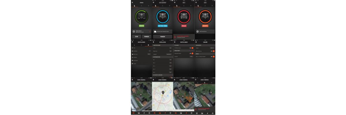 Automower Connect und Automower Connect@HOME im Vergleich -