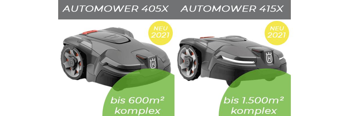 Automower Neuheiten 2021 | 405X und 415X - Automower Neuheiten 2021 - 405X und 415X