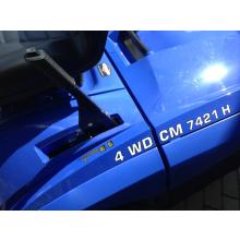 Rasentraktor Iseki CM 7421 4WD, 102cm, 21 PS 2-Zylinder, 350l. Fangbox, UVP: 7.799,- EUR