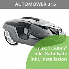 Mähroboter Husqvarna Automower 315 (max 1.500m²) inkl. Installation bis 800m²