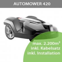 Mähroboter Husqvarna Automower 420 (Modell 2020) bis...