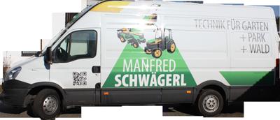 Manfred Schwägerl - hauseigener IVECO Daily Transportbus